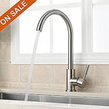 compare kitchen faucets everflow kitchen faucet without spray high arc swivel spout two