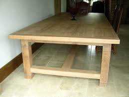 Handmade Kitchen Table by White Oak 16 Seater Handmade Refectory Kitchen Table Quercus