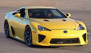 lexus cars 2009 file lexus lfa yellow las vegas speedway jpg wikimedia commons