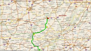 kentucky backroads map roving reports by doug p 2011 17 pigeon forge to prestonburg kentucky