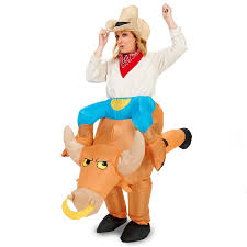 ride a bull inflatable costume buycostumes com