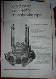 carburettor pump test tool