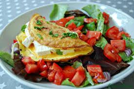 plat cuisiné weight watcher omelette à la féta de nathanaël le de chococlara