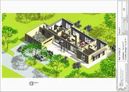 plan 4 chambres plain pied plan de maison plain pied 3 chambres avec garage unique plan maison