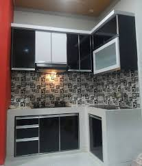 kitchen set minimalis modern kitchen set murah sederhana dapur minimalis idaman pinterest
