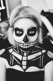 Halloween Black And White Makeup by Happy Halloween Skull Makeup Kate Maree