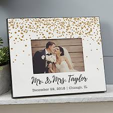 engraved wedding album personalized wedding picture frame sparkling