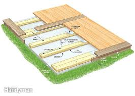 Cost Of Concrete Patio by Wood Patio Over Concrete Slab U2013 Smashingplates Us