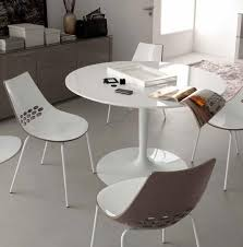 modern white round dining table white glass round dining table round designs