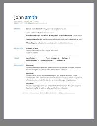 Impressive Resume Examples by Free Resume Templates 6 Microsoft Word Doc Professional Job And