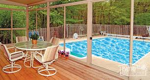 Pool Patios And Porches Screened In Porch Ideas Designs U0026 Decorations