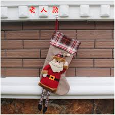 online shop embroidered xmas stocking sack personalised luxury