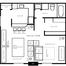 One Room Cottage Floor Plans Ikea Small Space Floor Plans 380 Sq Ft Garage Conversion Ideas