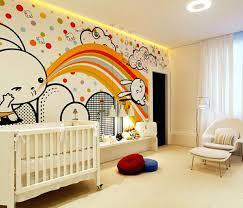 décoration murale chambre bébé deco mur chambre bebe daccoration chambre bacbac un mur joyeux et