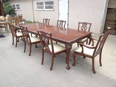 lexington chippendale mahogany palmer home table u0026 8 chairs dining