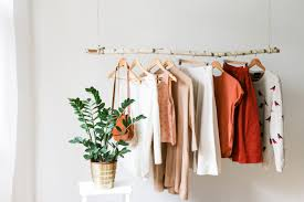 Hanging Clothes Rack From Ceiling Hanging Branch Clothing Rack