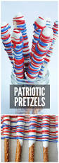 Red White And Blue Chocolate Red White U0026 Blue Pretzel Rods Catch My Party