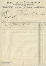 bhv siege social facture 1935 bazar de l hôtel de ville bhv panier salade