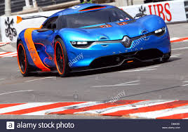 The New Renault Alpine A110 50 Concept Car Is Seen At The F1 Race