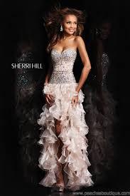 trendy for prom dresses 2013 romantic ruffles