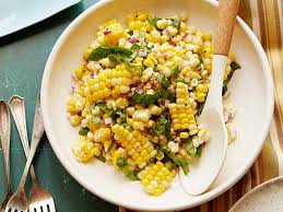 Ina Garten Greek Salad Summer Side Dish Recipes Food Network Fresh Corn Salad Corn
