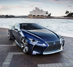 blue lexus lexus lf lc sports car could be made will it be a hybrid
