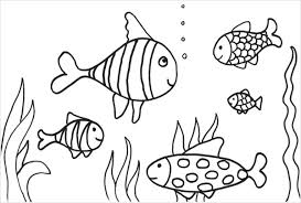 9 fish coloring pages jpg ai illustrator download free of