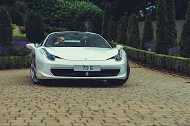 white 458 spider gijs spierings on would you get a white 458 spider