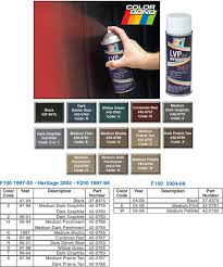 colorbond spray matches all your interior colors 1997 14 ford