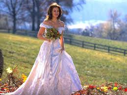 Designer Wedding Dresses Gowns 20 Best Celebrity Bride Movies And Their Wedding Dress Wedding