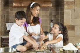 cooking as a family fosters fun and creativity in the kitchen
