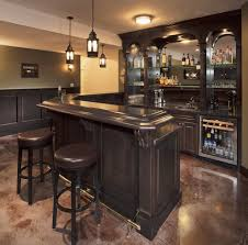 home bar shelves leather home bar home bar rustic with wine cellar brown leather