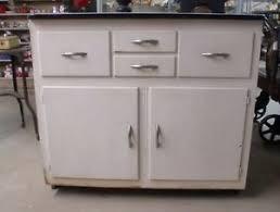 vintage porcelain top kitchen cabinet painted ebay