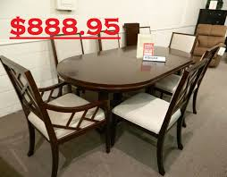 broyhill antiquity drm tbl u0026 7 chairs 888 95 jpg