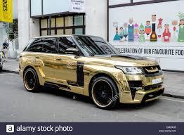 gold range rover 2017 saudi gold range rover parked outside of selfridges knightsbridge