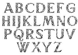 ornamental initials typedrawers