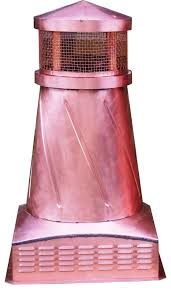 volko supply cape rose copper chimney pots