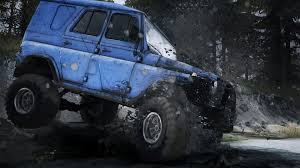 mudding cars spintires mudrunner