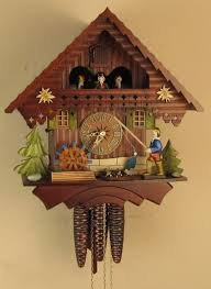 Blue Cuckoo Clock 1 Day Musical Cuckoo Clocks North Coast Imports