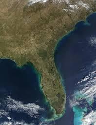 Florida Everglades Map by Nasa Visible Earth The Everglades