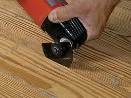 How To Replace A Damaged Piece Of Laminate Flooring Simple Wood Floor Fixes Old House Restoration Products U0026 Decorating