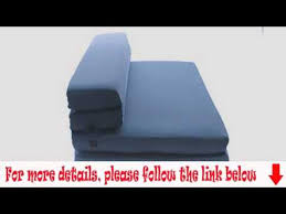 Rv Tri Fold Sofa by Milliard Trifold Folding Sofa Bed Queen 58x78x45in Youtube
