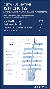 Atlanta Airport Terminal Map Delta by Hartsfield Jackson Atlanta International Airport Delta News Hub