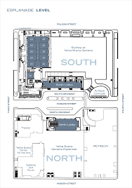 san francisco floor plans moscone center floor plans ascb