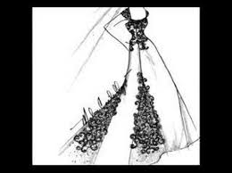 wedding gown sketches by malou castillejos youtube