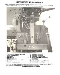 international 615 and 715 combines s n 8001 19000 manual farm