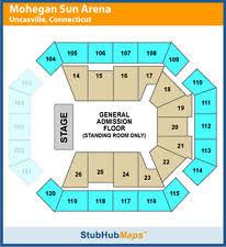 Mohegan Sun Arena Floor Plan Uncasville Ct Mohegan Sun Arena Concert Tickets Ebay