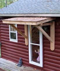 Back Porch Awning Best 25 Front Door Awning Ideas On Pinterest Metal Awning
