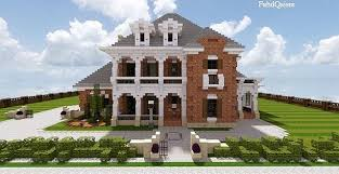 design a mansion southern country mansion minecraft house design