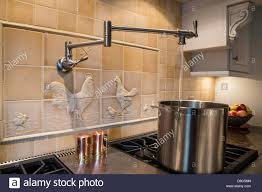 kitchen amazing pot filler faucet for kitchen tool idea pot filler faucet pasta arm chicago pot filler